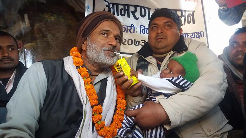 Tiwari ends 18-day hunger strike