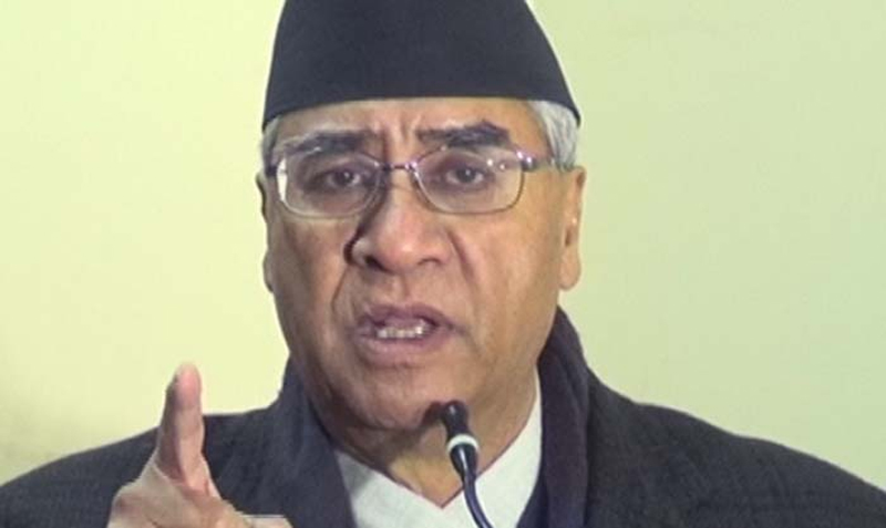 Local poll to be held at any cost: NC President Deuba