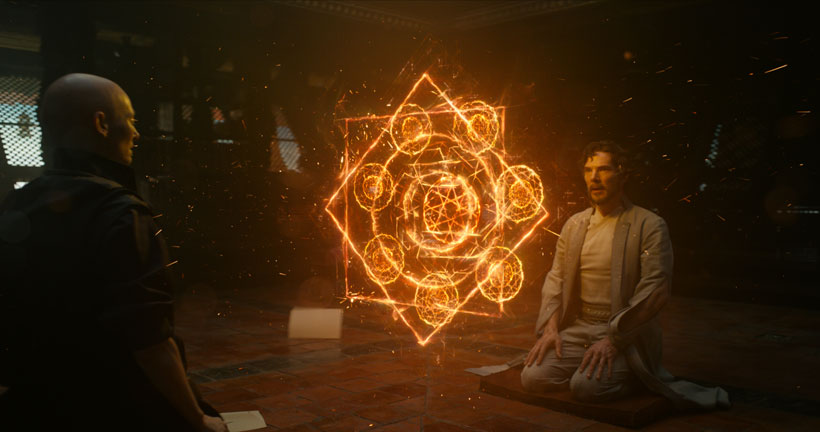 Review: 'Doctor Strange' dazzles with mind-bending visuals