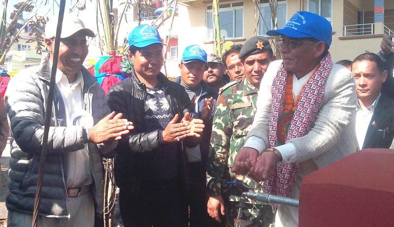 Changathali Drinking Water Project inaugurated