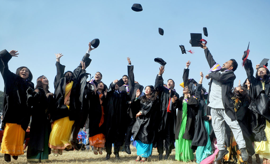 In pictures: Joy of graduation