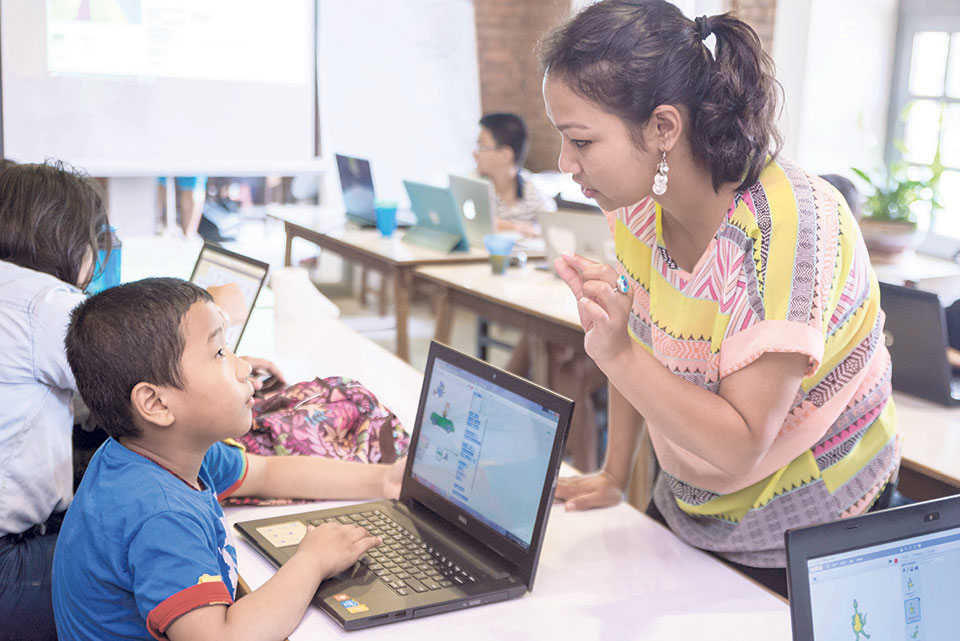 Grooming young innovators