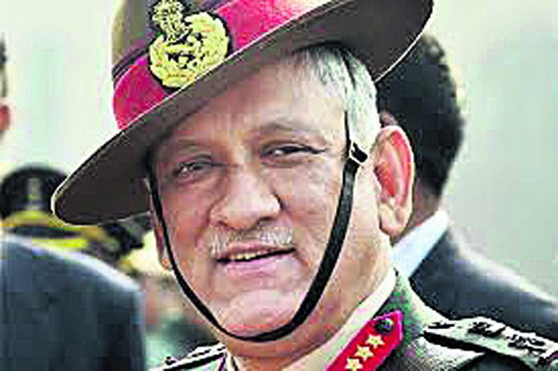 Indian Army Chief arrives