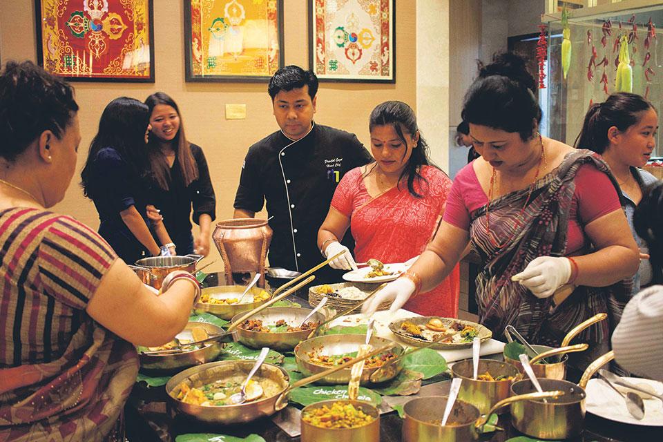 Fairfield Marriott's delightful Newari Bhoj