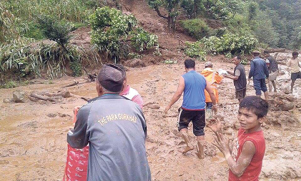 Landslide victims seek long-term solution