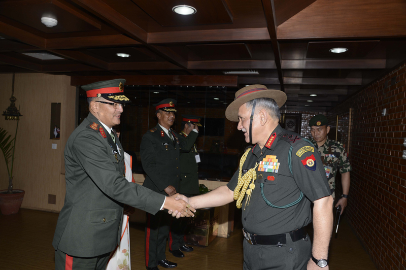 Indian CoAS returns home wrapping up Nepal visit