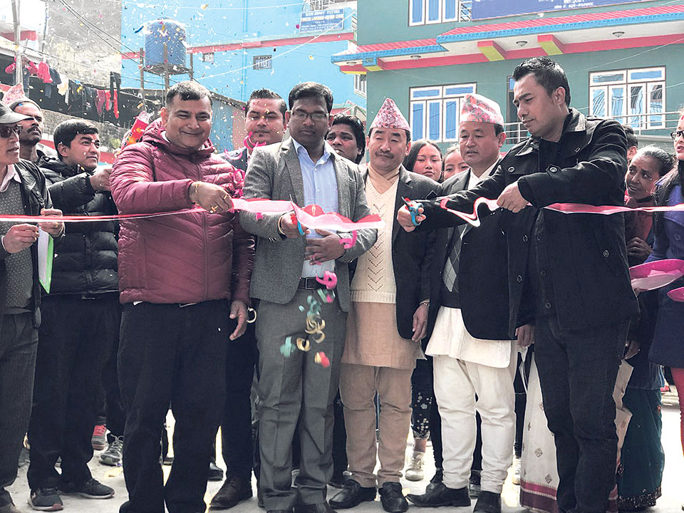 Agni Group opens Mahindra showroom in Taplejung