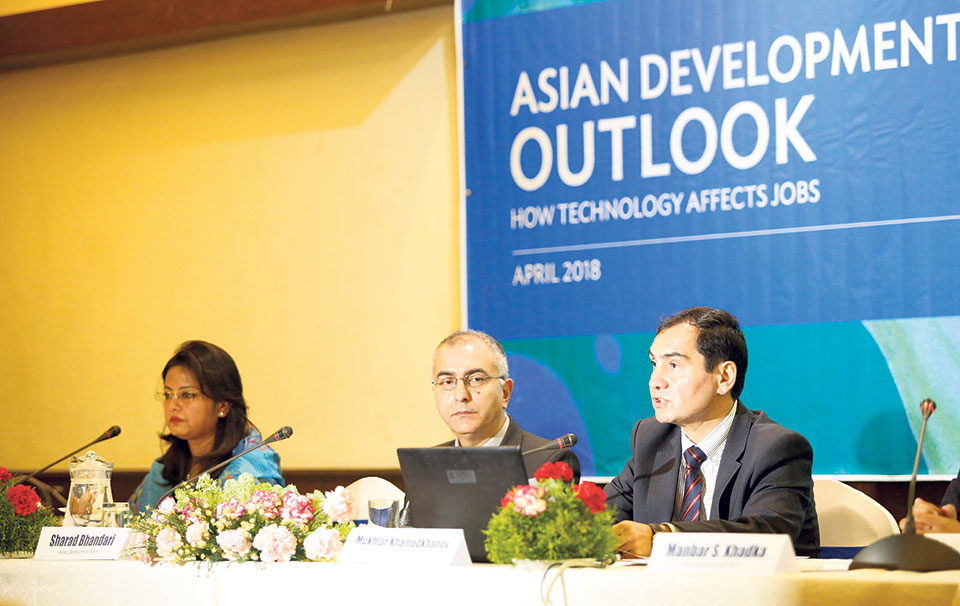 ADB anticipates 4.9 percent growth for Nepal