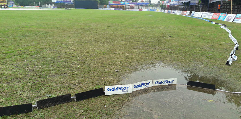 Match between Kathmandu and Mahendranagar canceled due to rain