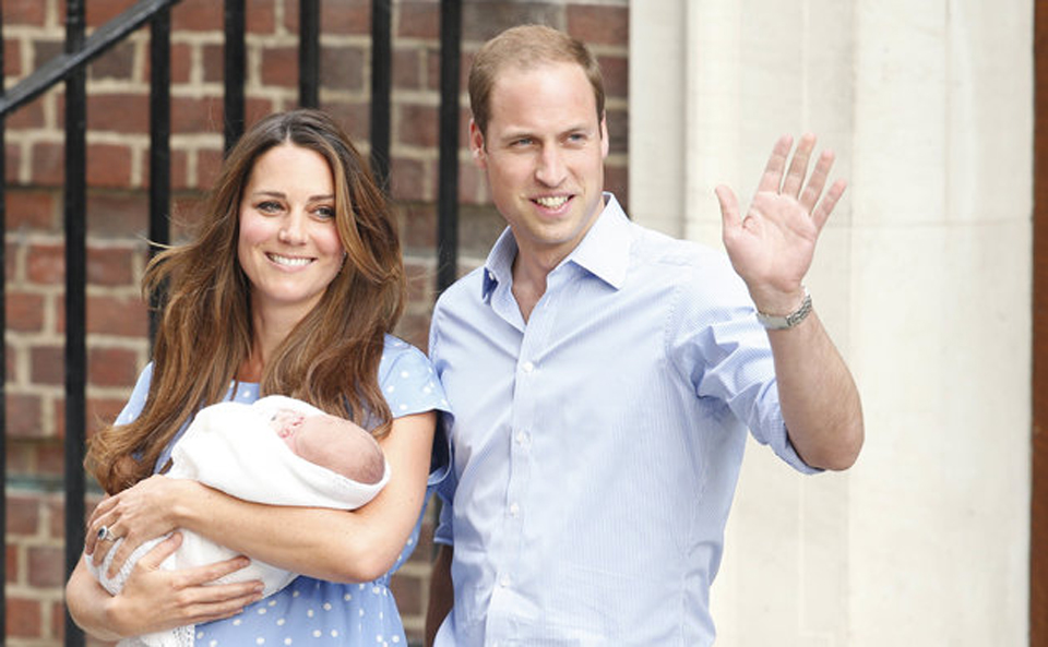 Royal baby boy: Duchess of Cambridge gives birth to prince
