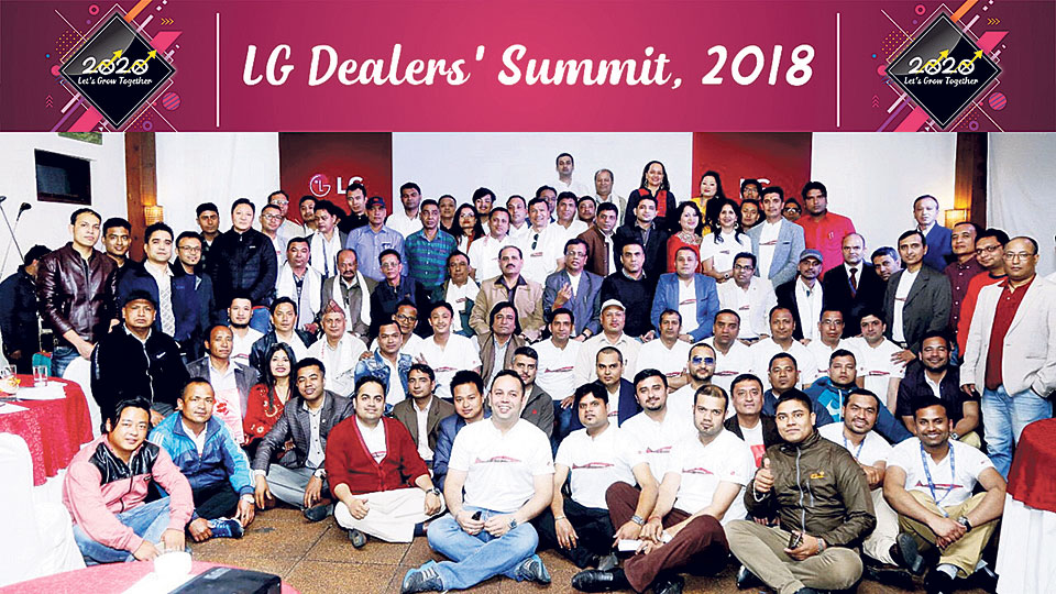 LG organizes Dealers' Summit