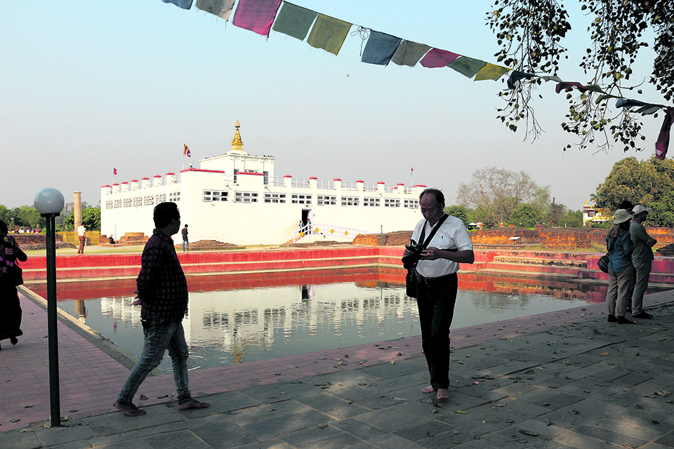 'Officials helped tourists bury human remains on Mayadevi Temple premises'
