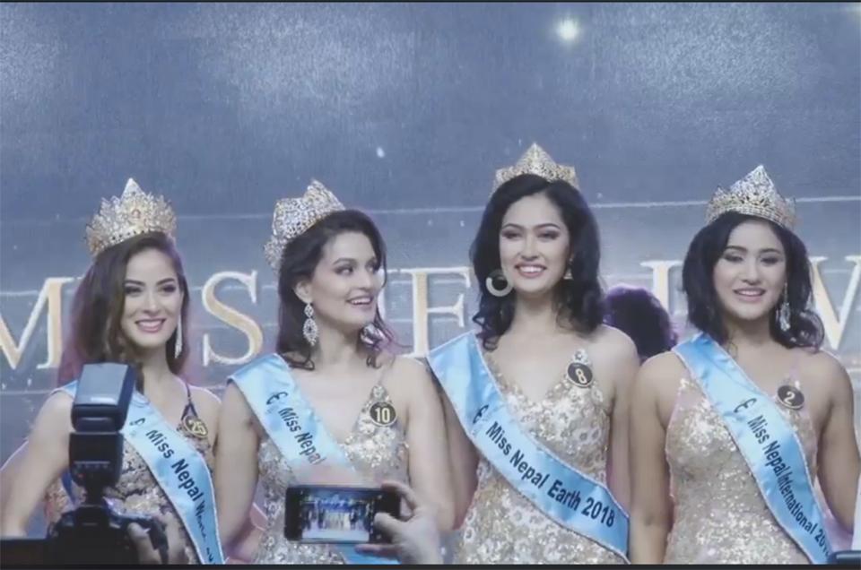 Shrinkhala Khatiwada crowned as Miss Nepal-World 2018