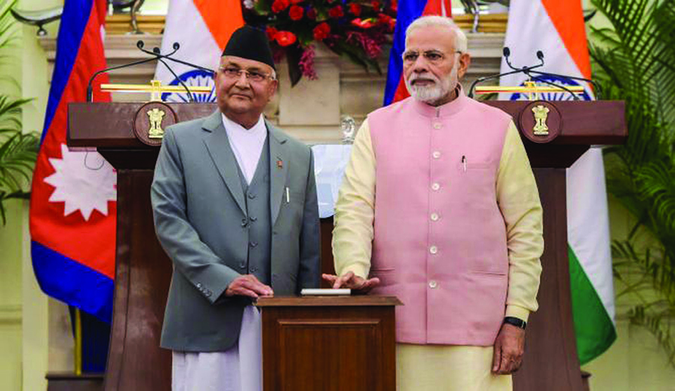 PM Oli, Modi to jointly lay foundation stone for Arun-III