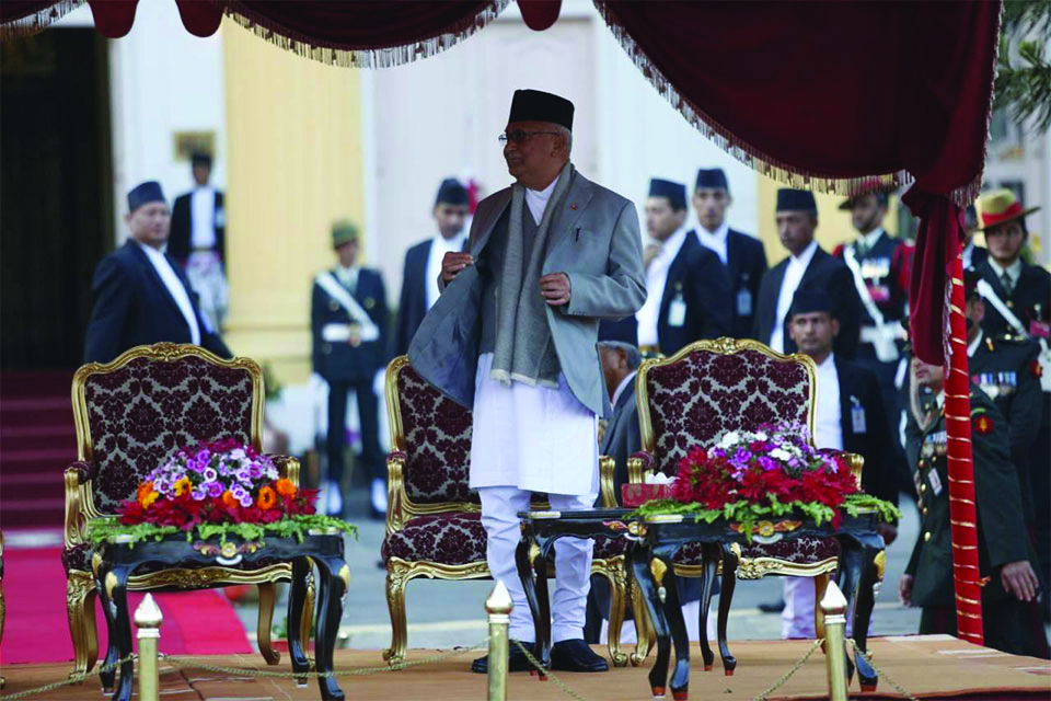 Oli to give one more try for consensus before India visit