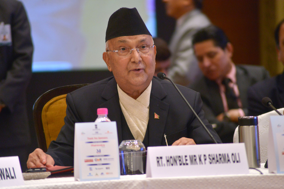 PM Oli invites FDIs, ensures safety and profit for investors