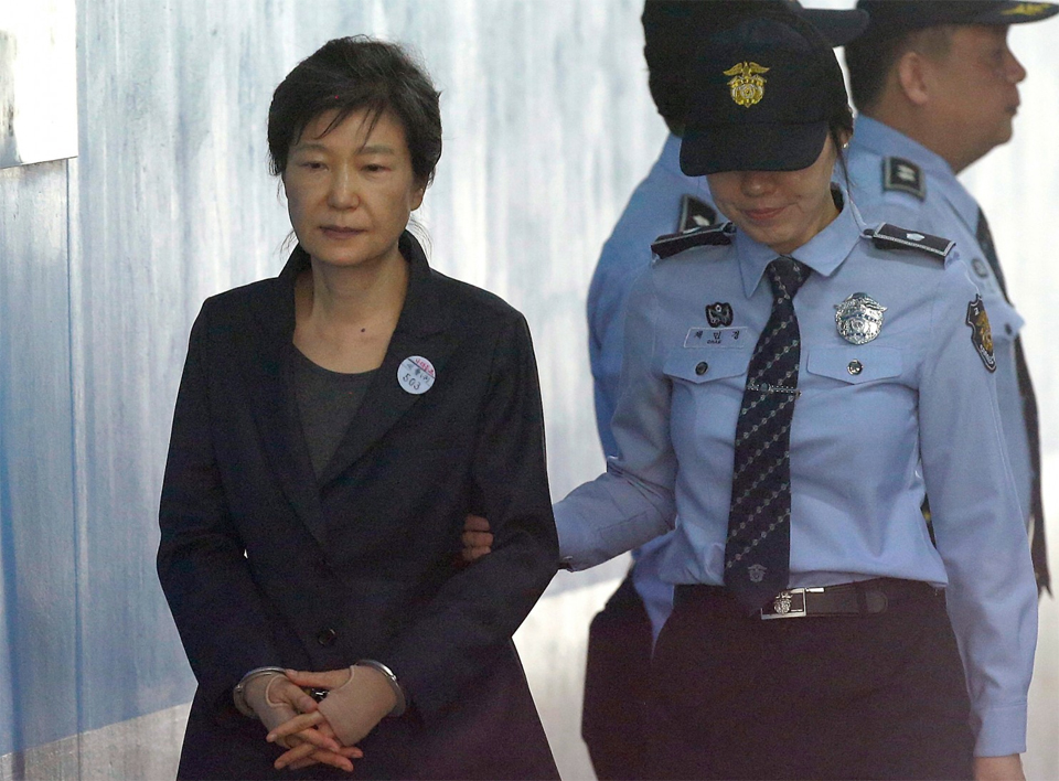 South Korean Ex-president Park gets 24 years in prison on corruption charges