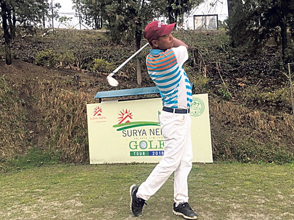 Bhuwan maintains lead on second day