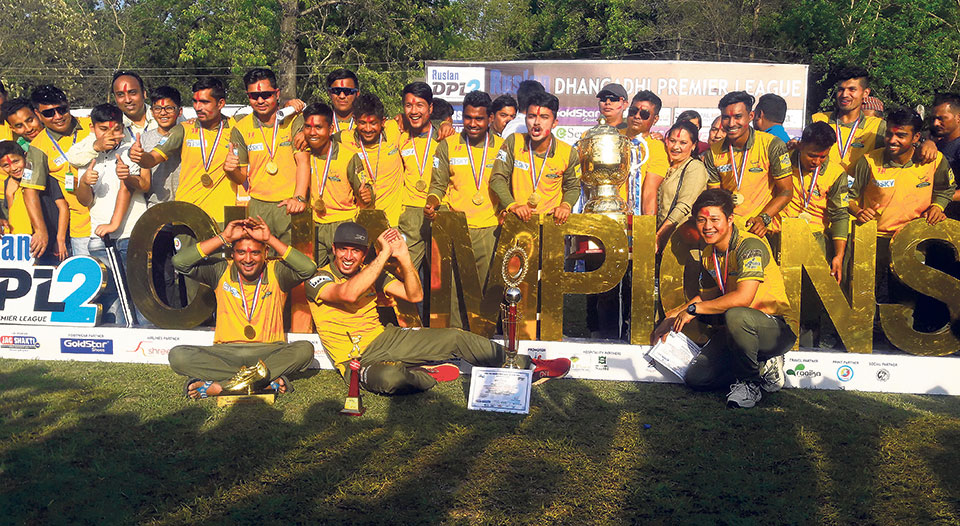 Chauraha lifts DPL title for second consecutive time