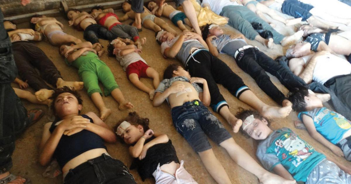 Five hundred people were poisoned in Syrian gas attack that killed 43 people including children: WHO