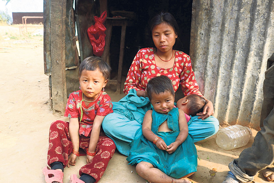 Malnutrition rampant among Chepang women, kids