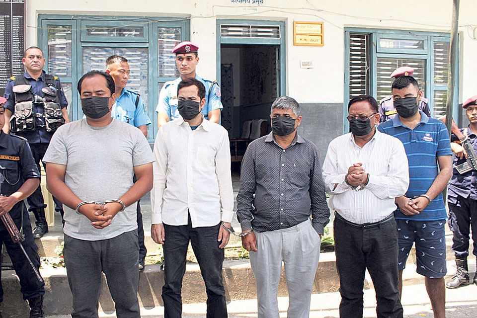 Maoist, Youth Association leaders arrested for involvement in criminal activities