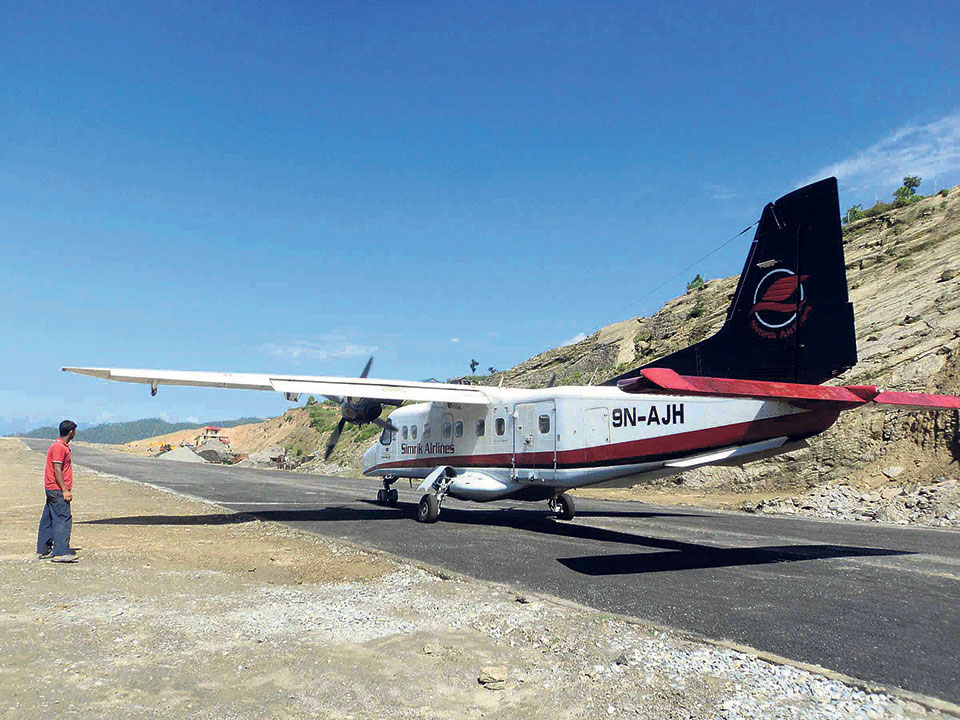 Call to resume air service to hilly districts from Biratnagar
