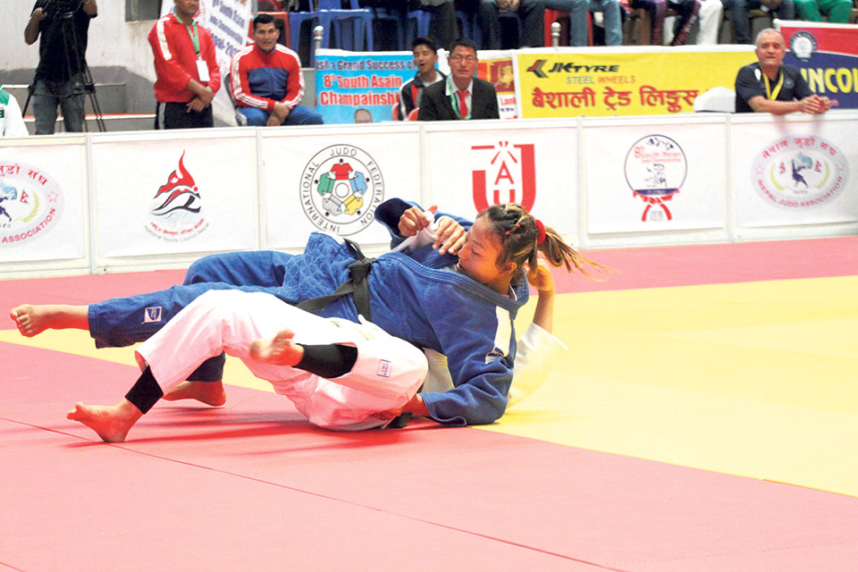 Shrestha becomes Nepal's lone gold medal winner on opening day