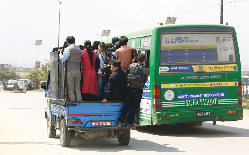 Govt stands bold against public transport cartel