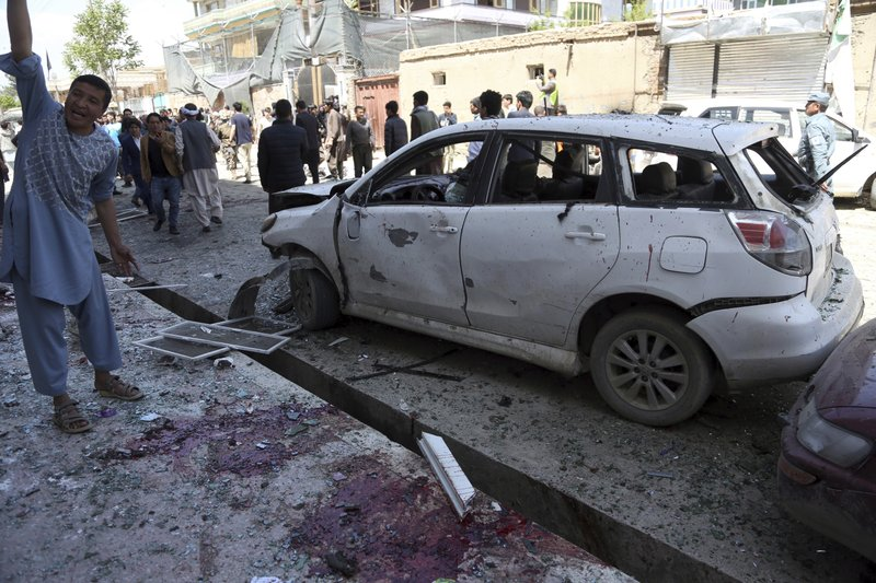 Islamic State suicide bomber kills 57 in Afghan capital