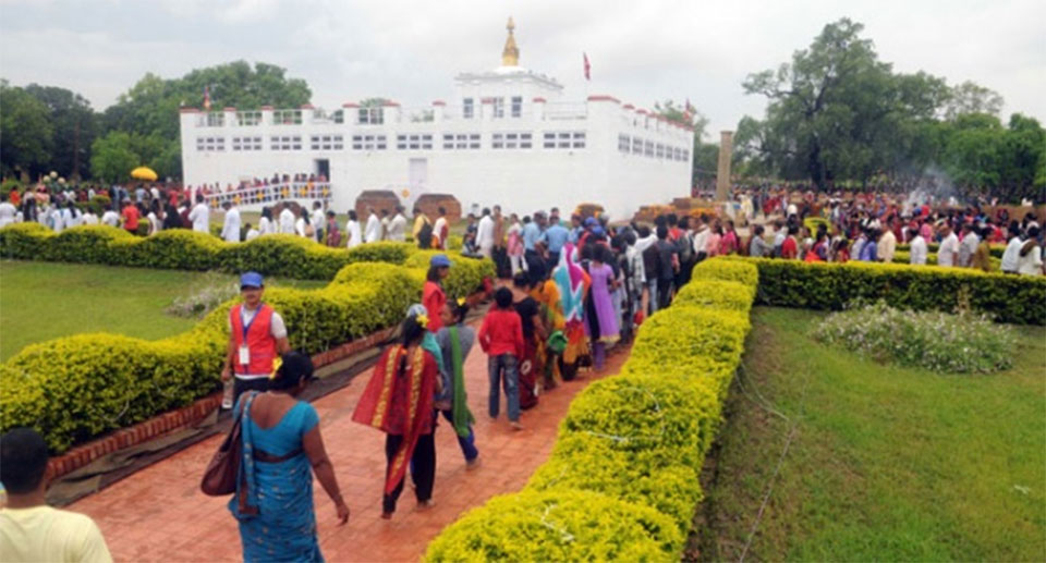 PM Oli, Prez Bhandari and VP Pun extend best wishes on Buddha Jayanti