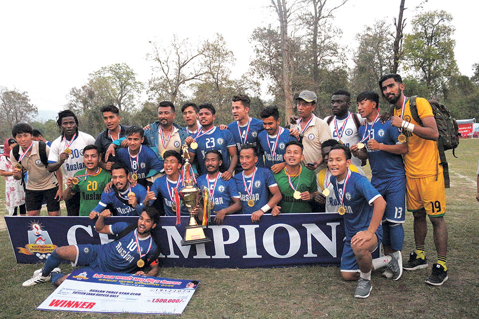 Three Star lifts Madan Bhandari Gold Cup