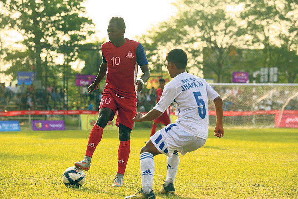 Madan Bhandari advances into Damak Gold Cup second round