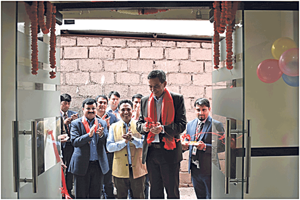NCC Bank opens branch in Myagdi