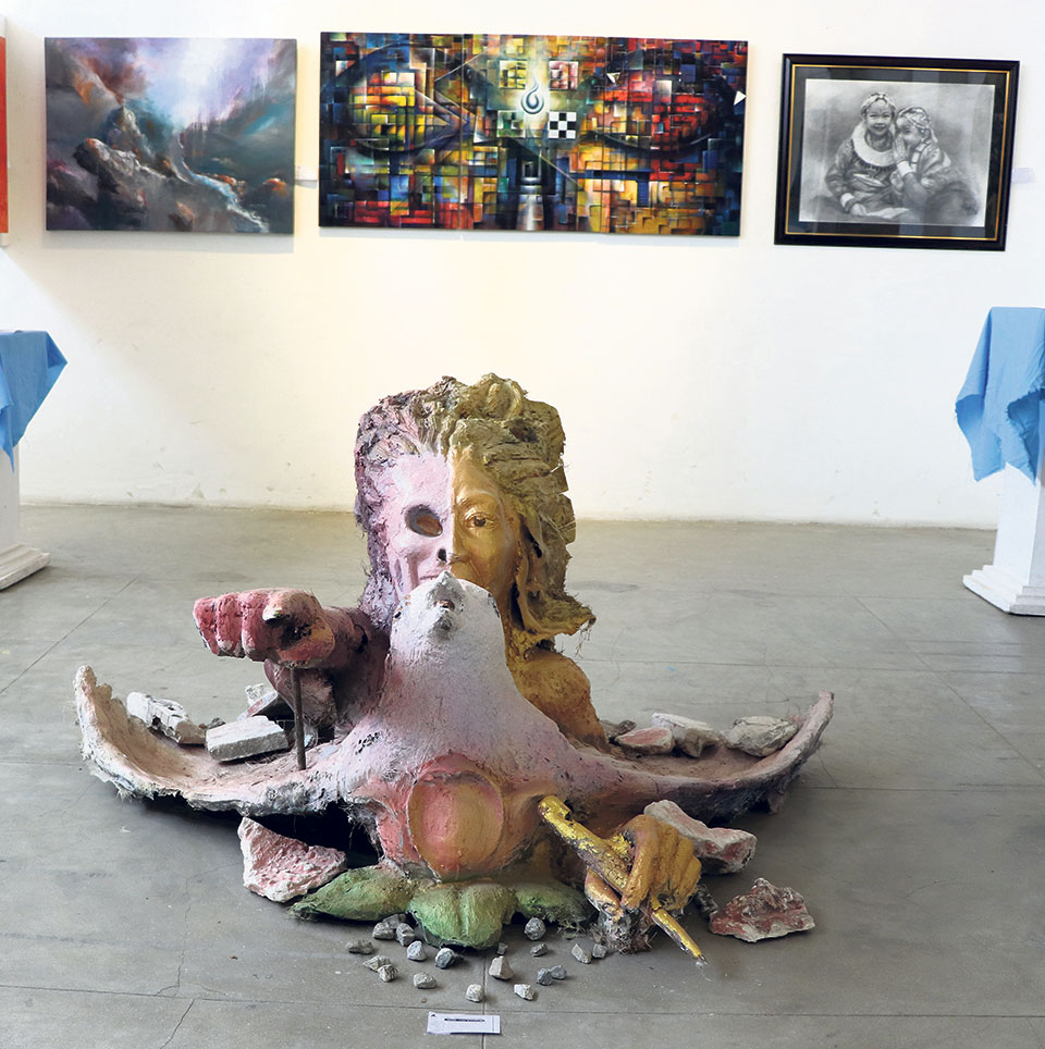 Works of over 400 artists on display at Nepal Art Council