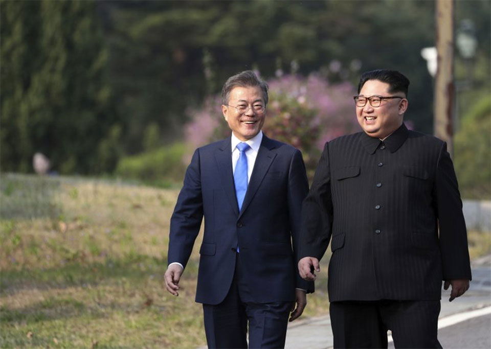 North Korea remains silent on historic inter-Korean summit