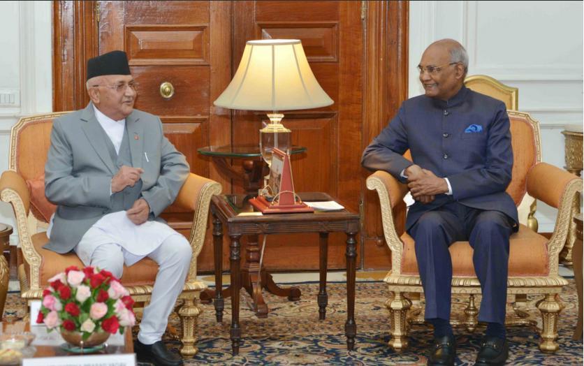 Indian Prez expresses commitment to Nepal's economic prosperity