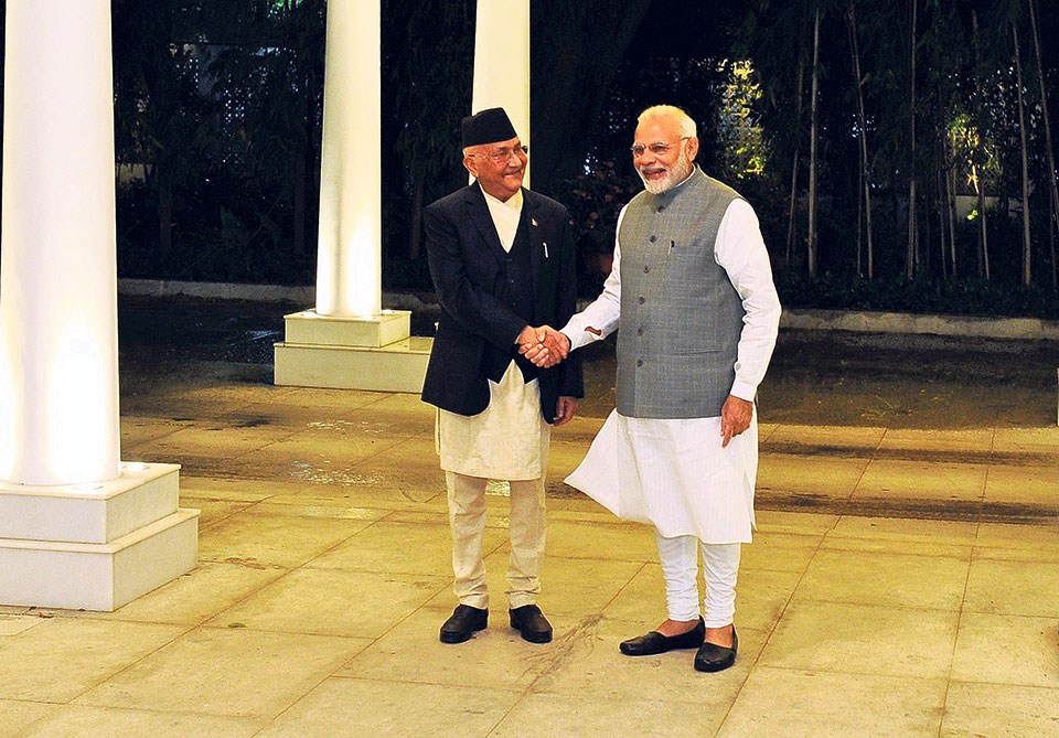 PM Oli in New Delhi, key meetings today