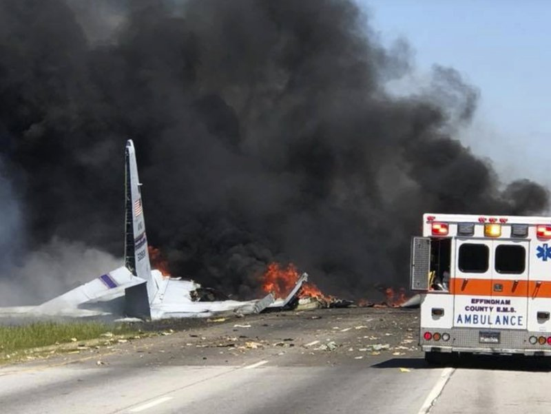 9 Puerto Ricans killed in final flight of 60-year-old C-130