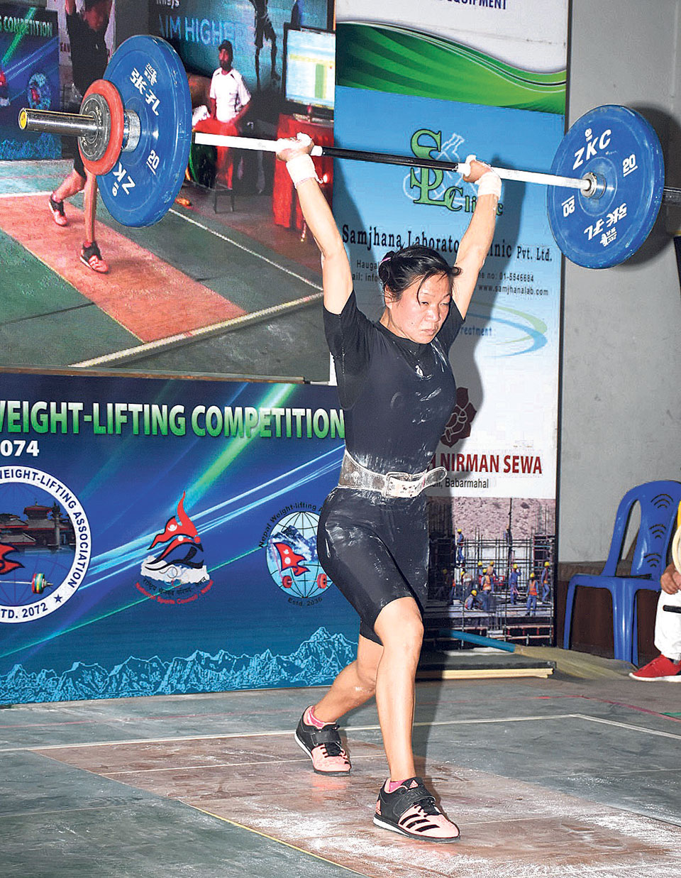 Sangita Rai breaks 12-year-old national record in weightlifting