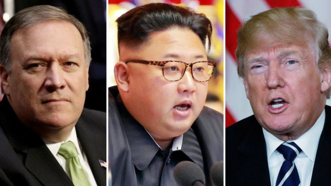 Mike Pompeo, CIA chief, met with North Korean leader Kim Jong-un - reports