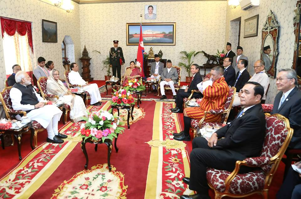 BIMSTEC's dignitaries at Sheetal Niwas