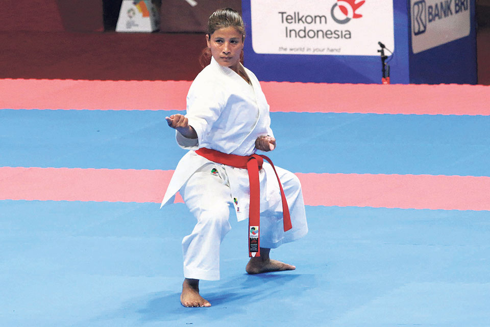 Nepal deprived of bronze in karate after defeat in semis