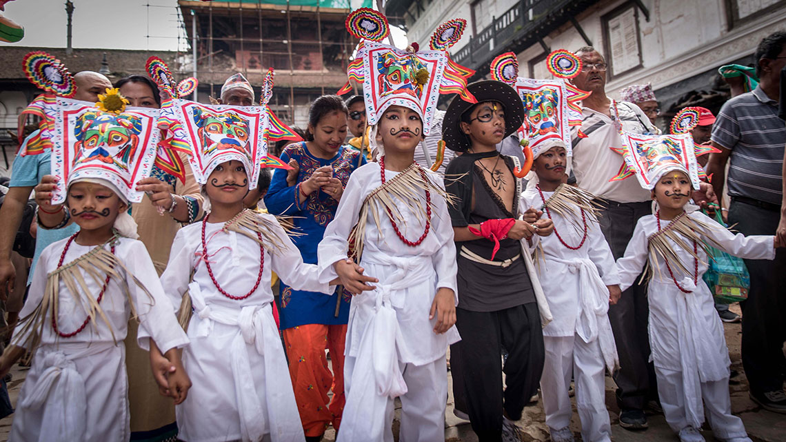 Gaijatra festival being observed with gusto (photo feature)
