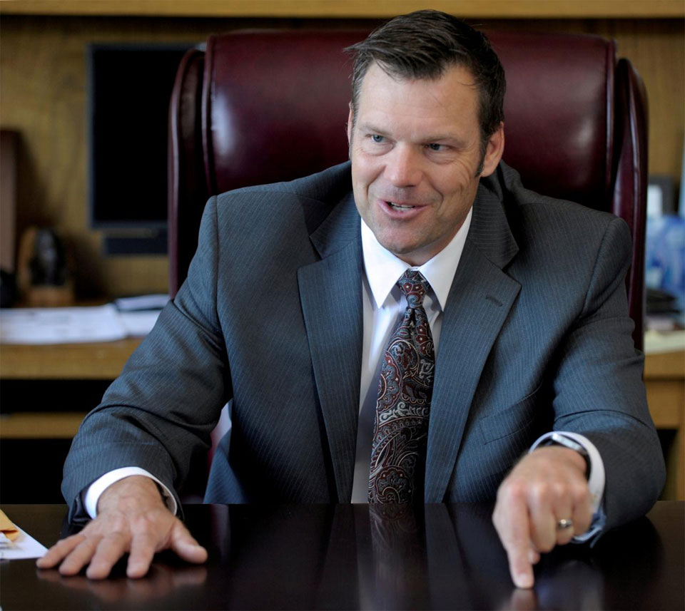 Trump-backed candidate for Kansas governor's lead cut to 91 votes