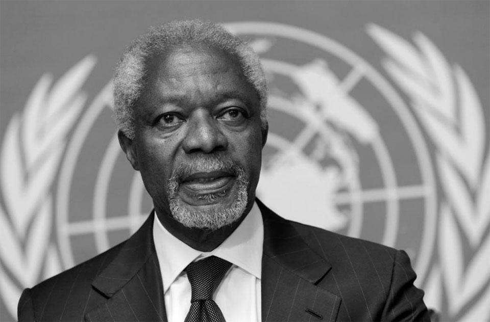 Former U.N. chief and Nobel Peace Prize laureate Kofi Annan dies aged 80