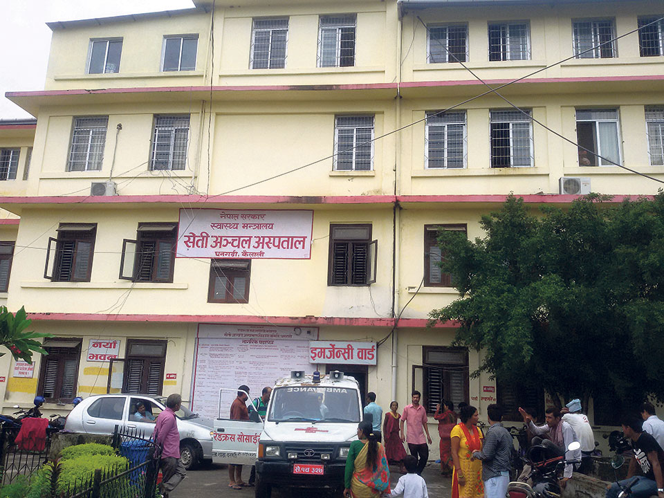 Services in Lamahi Hospital affected in lack of staff