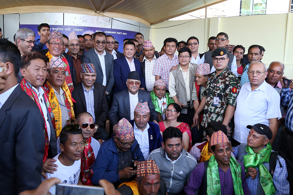 Bee leads us to garden of flowers; fly to excreta: PM Oli