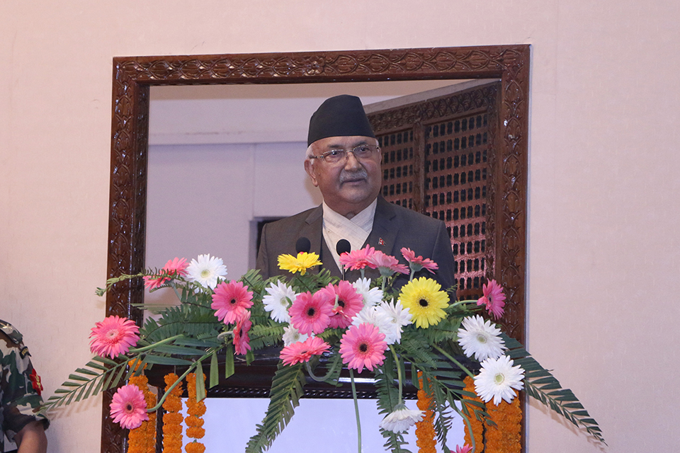 Dispel the misconception about taxation: PM Oli
