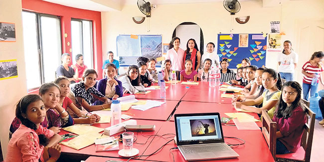 Teach For Nepal Alumni supporting Girls to Unlock their potential through STEM Workshop